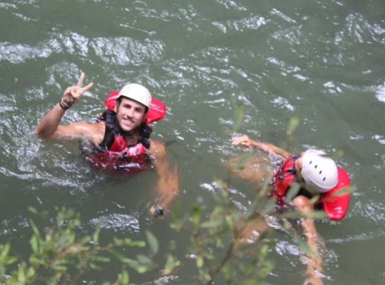 costa rica canyoneering