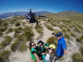 heli trail picnic queenstown nova zelandia