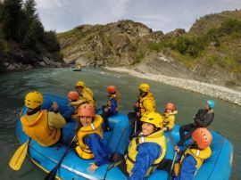 rafting do shotover queenstown nova zelandia