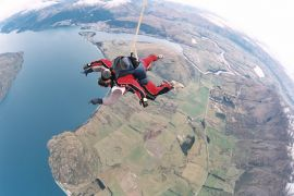 sky diving queenstown nova zelandia