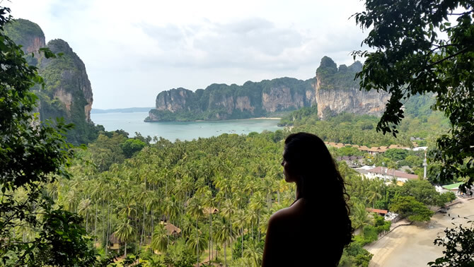 view point railay beach tailandia