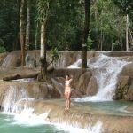 Tad Sae Waterfalls - Laos