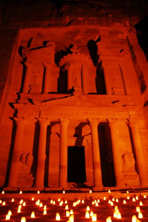 petra by night jordania renato gomes