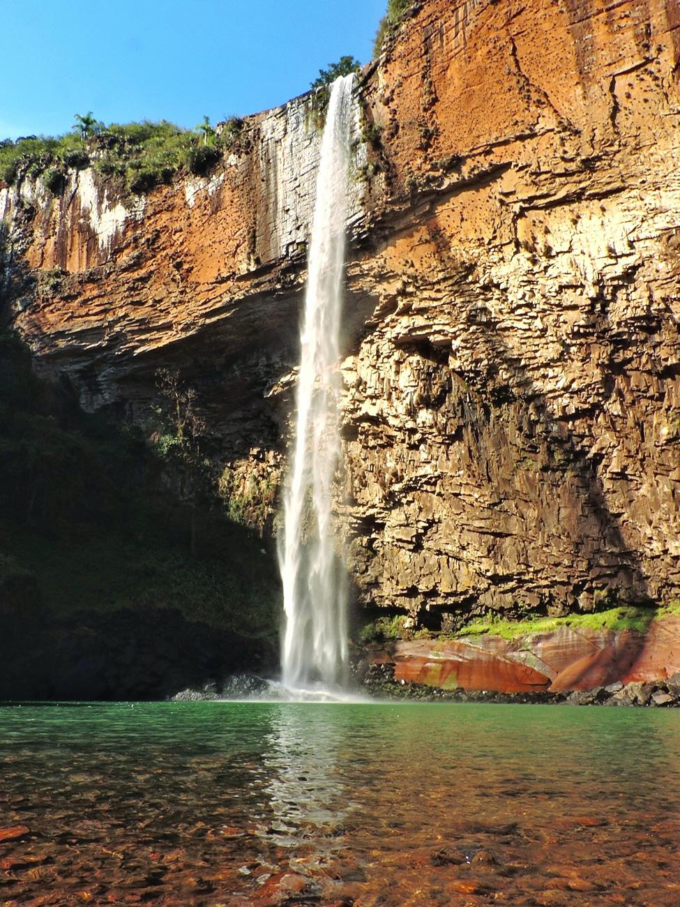 Cascata do Chuvisqueiro, Riozinho - RS | Trilhando Montanhas