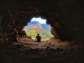 Capa do Wally's Cave, Lions Head, Cape Town - África do Sul