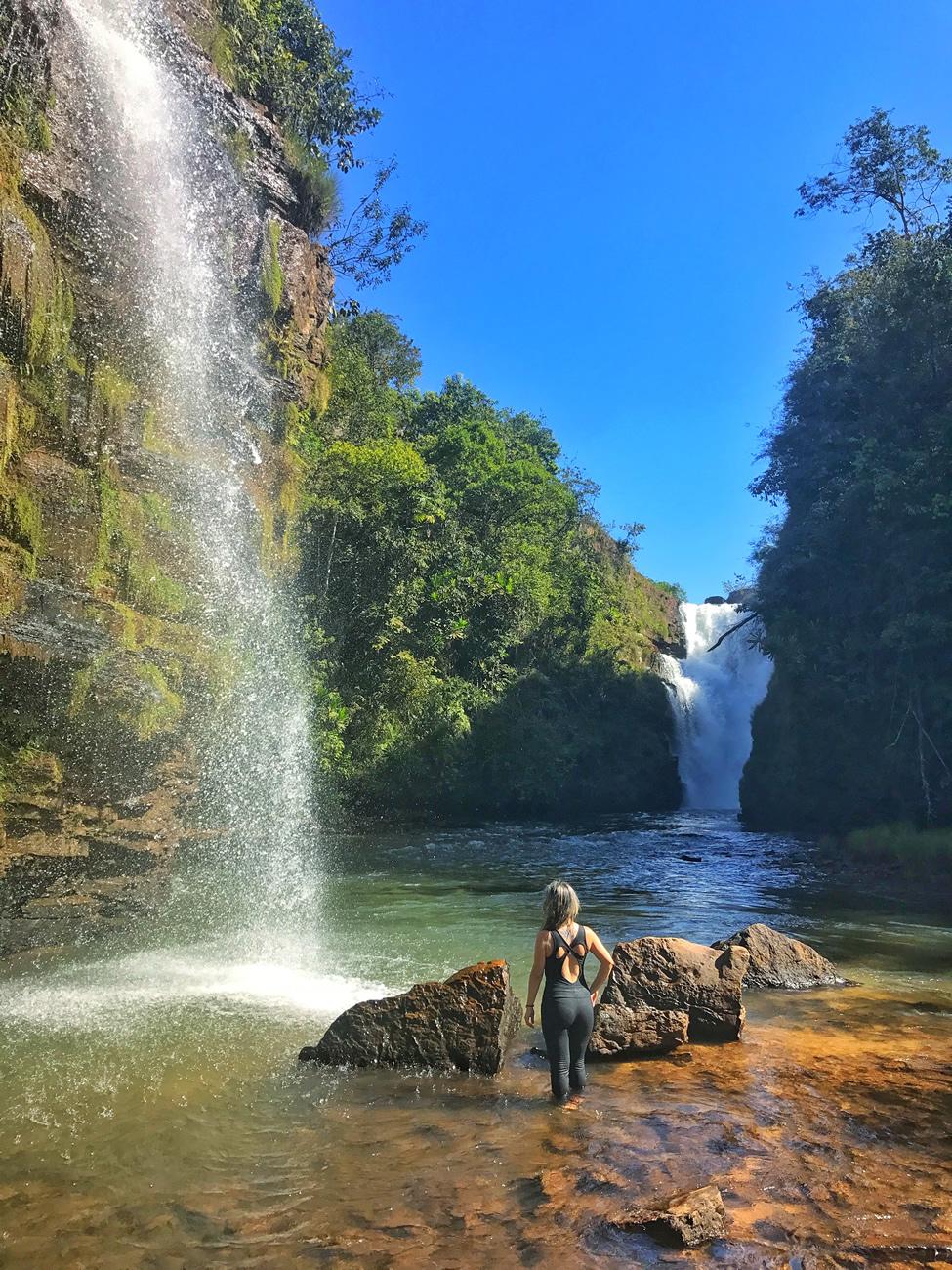 Cachoeira da Fumaça, Jaciara - MT | Trilhando Montanhas  Cachoeira da Fu...
