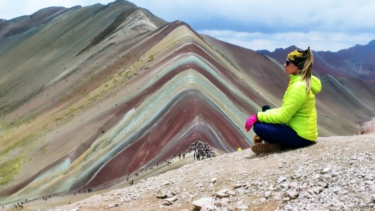 Rainbow Mountain no Peru