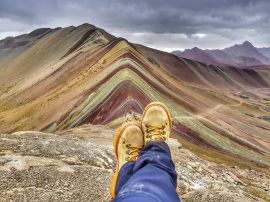Capa do Rainbow Mountain, Winicunca, Peru