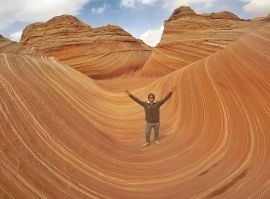 Capa do The Wave, Arizona, Estados Unidos